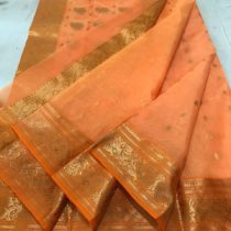 apparese orange kattan silk
