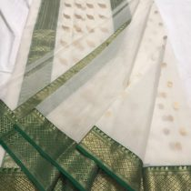 apparese white kattan silk
