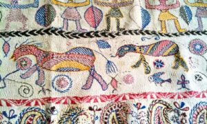Apparese Kantha Embroidery