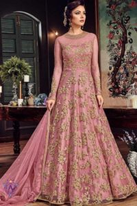Aapparese anarkali suit