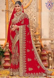 Apparese wedding saree